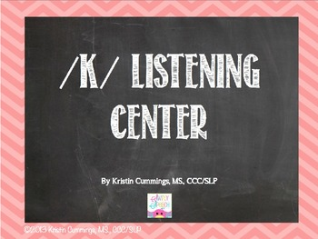 K Listening Center Power Point