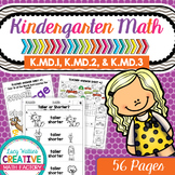 Kindergarten Common Core Math | No Prep Worksheets | K.MD.