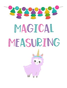 K.MD.A.1 Magical Measuring Book