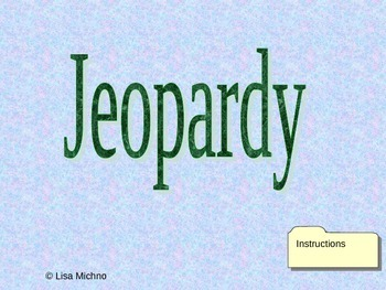 K Math Jeopardy