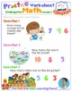 Math LESSON 3 ~ VIDEO & PRINTOUT ~ Let's Count to 20!