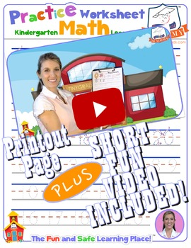 Math LESSON 4 ~ VIDEO & PRINTOUT ~ Let's Write to 20!