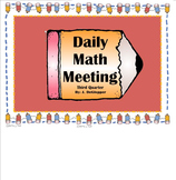 Kindergarten Math Meeting 3