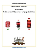 K - Measurement and Data - Students with Speech and Language Disorders