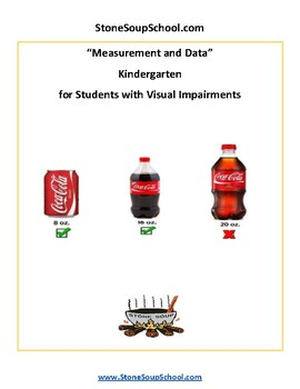 K - Measurement and Data for Students w/ Visual Impairements