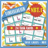"K.NBT.1 Task Cards ""Composing & Decomposing Numbers"" Task Cards, K.NBT.1 Centers"