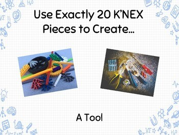 K'NEX Task Cards for Makerspace, Morning Work & More