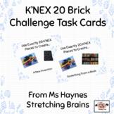 K'NEX Task Cards for Makerspace, Morning Work & More