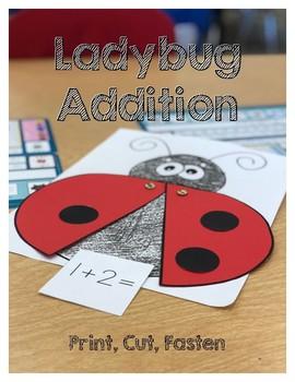 K.OA.1 Ladybug Addition