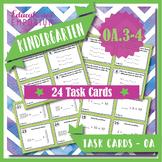 "K.OA.3-4 Task Cards: ""Decompose Numbers & Add to Make 10"" K.OA.3, K.OA.4 Centers"