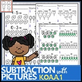K.OA.A.1 Subtraction with Pictures within 10