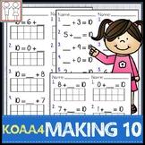 K.OA.A.4 Making 10 Worksheets