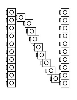 "K-P (no 'M"") connecting cubes"