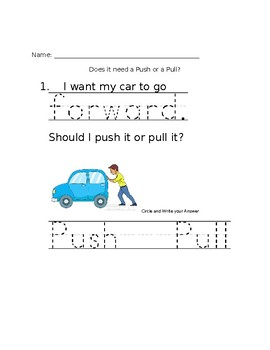 K-PS2-2. Change Direction and/or Speed