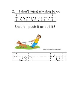 K PS2-2 Change Direction and/or Speed