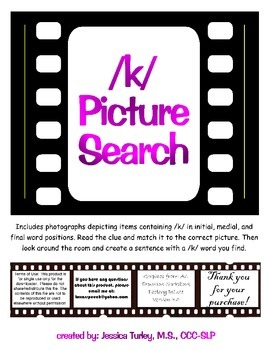 K Photo Search for Articulation