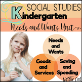 NEEDS VS WANTS UNIT FOR KINDERGARTEN