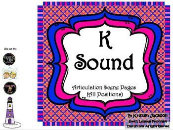K Sound Articulation Pages