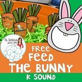 Free /K/ Feed the Bunny Activity