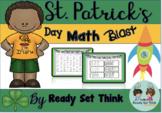 K St. Patrick's Day Math Blast (Just Print and Go)