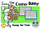 K Sunny the Easter  Bunny Color by Ten Frames