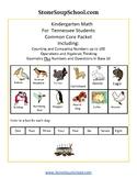 K - Tennesse:Geometry, Algebraic, Base 10, Measure & Data,Counting to 100
