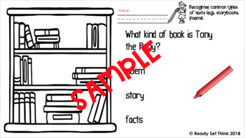 K Tony the Pony - Ebook with (BUNDLED) Reading Comprehension