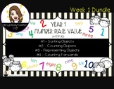 K/Year 1 - Place Value - Numbers 0 -10 - Week 1