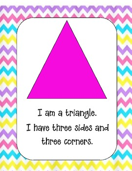 K and 1 Shape Posters