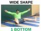 K and 1st Grade Body Shape Balancers!