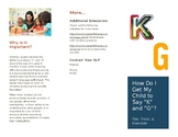 K and G Sounds Brochure for Parents
