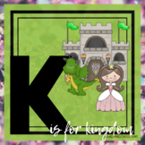 K is for Kings Themed Preschool Lesson Plans (one week curriculum)