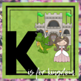 K is for Kings Themed Unit-Preschool Lesson Plans and Activities (one week)