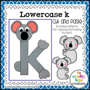 Letter K Craft {Koala}