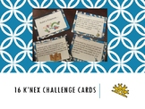 K'nex Challenge Cards Perfect for Centers or Makerspace (Packet)