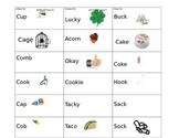 /K/ phoneme words for speech binder