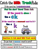 K vs CK Worksheets Orton Gillingham aligned (The Milk Truck Rule)