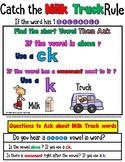K vs CK  (Barton Reading and Spelling Aligned- Milk Truck) Level 3-7