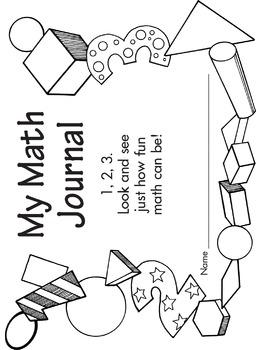 K–1 Journals: Math Journal