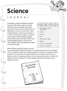 K–1 Journals: Science Journal