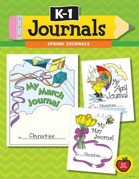 K–1 Journals: Spring Journals