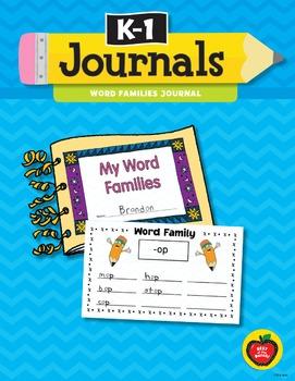K–1 Journals: Word Families Journal