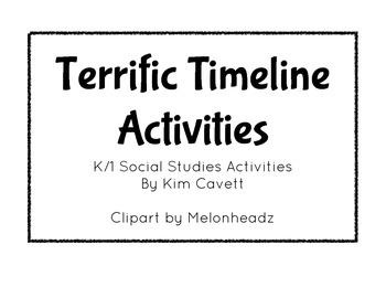 K/1 Terrific Timeline Activities