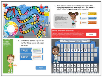 Social Skills Character Education Curriculum - Interactive Program