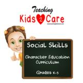 Social Skills Character Education Curriculum - Interactive