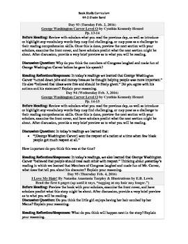 K4-2 Grade Band Reading Curriculum/Program (February)