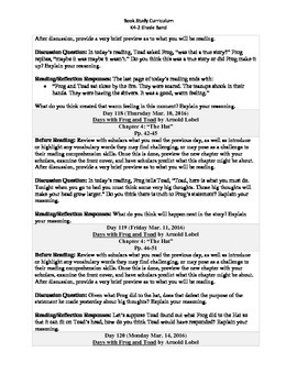 K4-2 Grade Band Reading Curriculum/Program (March)