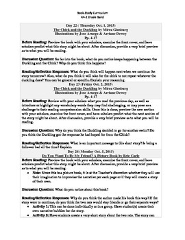 K4-2 Grade Band Reading Curriculum/Program (October)
