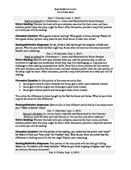 K4-2 Grade Band Reading Curriculum/Program (September)