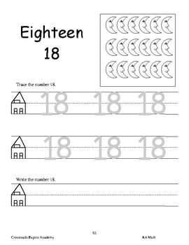 K4 Math Workbook